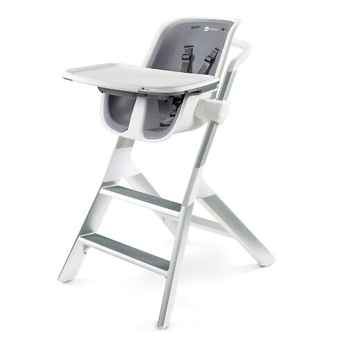 4moms High Chair - Белый / Серый (White / Grey)