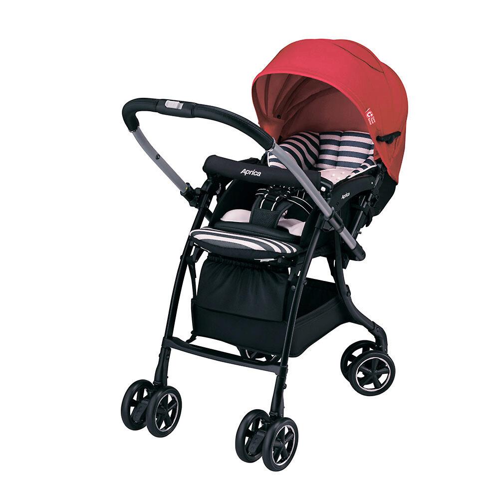 Aprica Luxuna Dual - легкая прогулочная коляска с ...