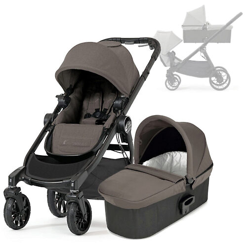 Baby Jogger City Select Lux - Коричневый (Taupe)