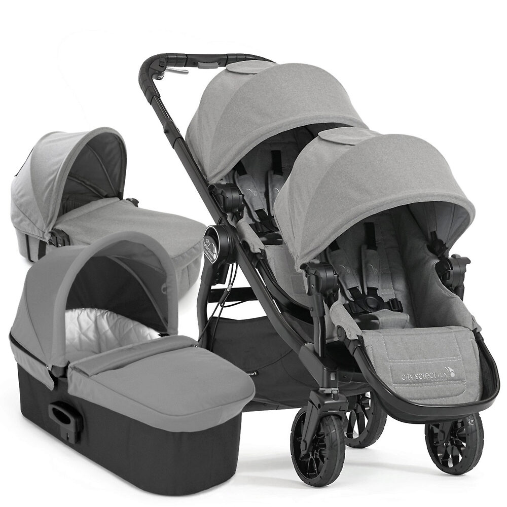 Baby Jogger City Select Lux - Серый (Slate)