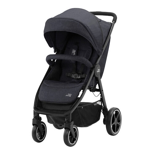 Britax B-Agile M - Чёрный (Black Shadow)