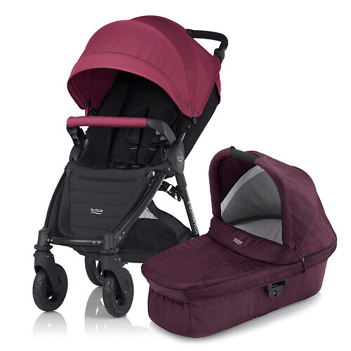 Britax B-Motion Plus - Виноградный (Wine Red)