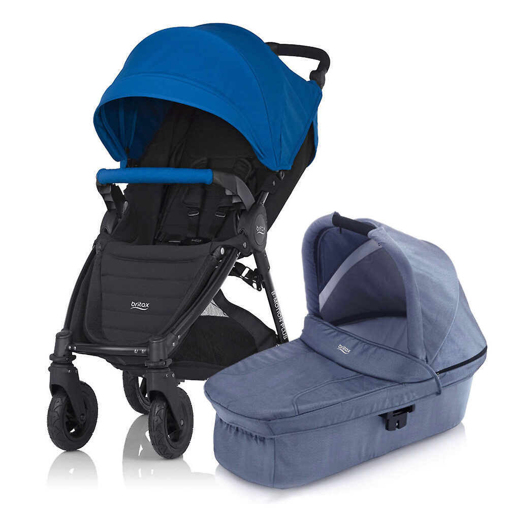 Britax B-Motion 4 Plus - Синий (Ocean Blue / Blue Denim)