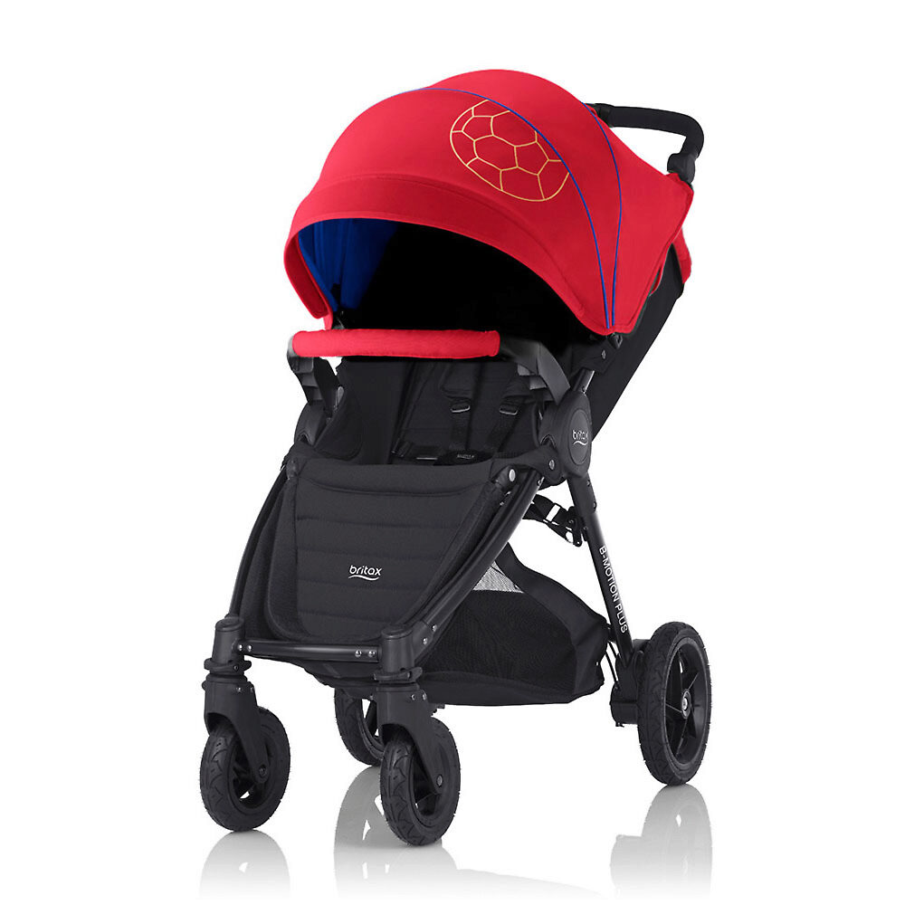 Britax B-Motion 4 Plus - Красный / Синий (Football Limited Edition)