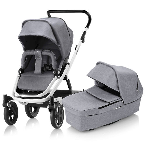 Britax Go Big 2 - Серый / Белая рама (Grey Melange / White)
