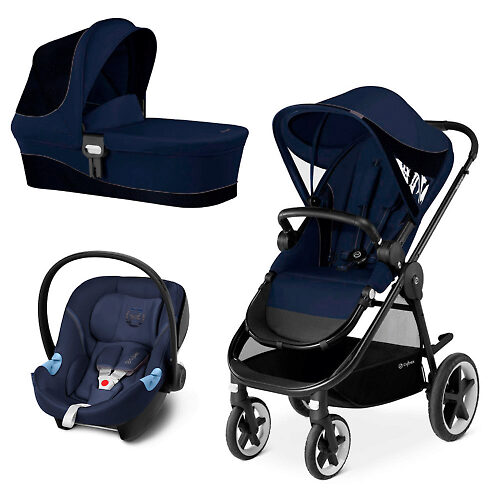 Cybex Balios M + Aton M - Тёмно-синий (Denim Blue)