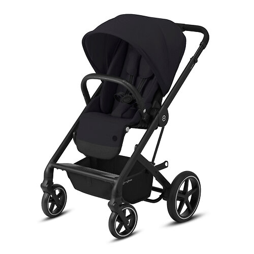 Cybex Balios S Lux - Чёрный (Deep Black - BLK 2020)
