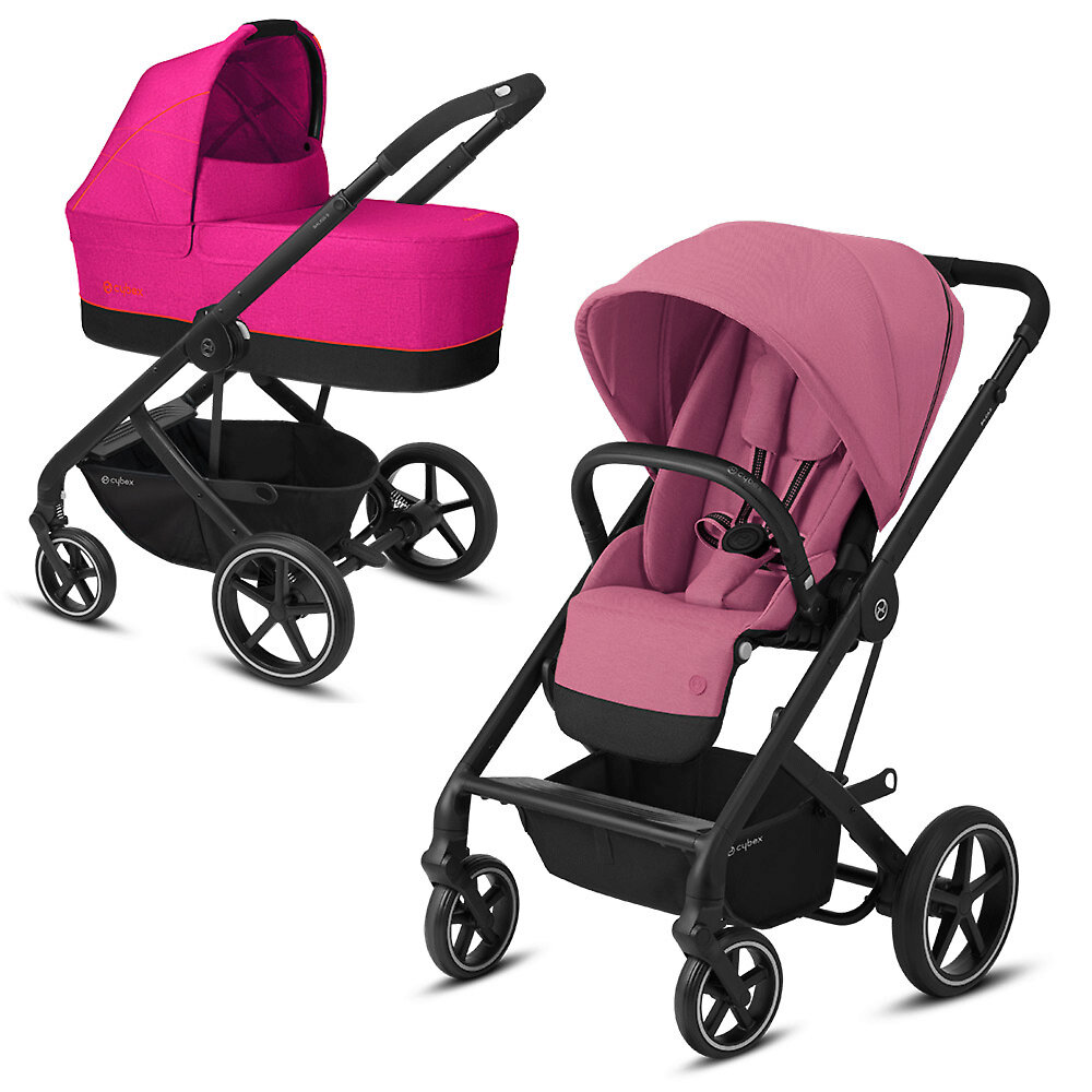 Cybex Balios S Lux - Розовый (Magnolia Pink - BLK / Passion Pink)