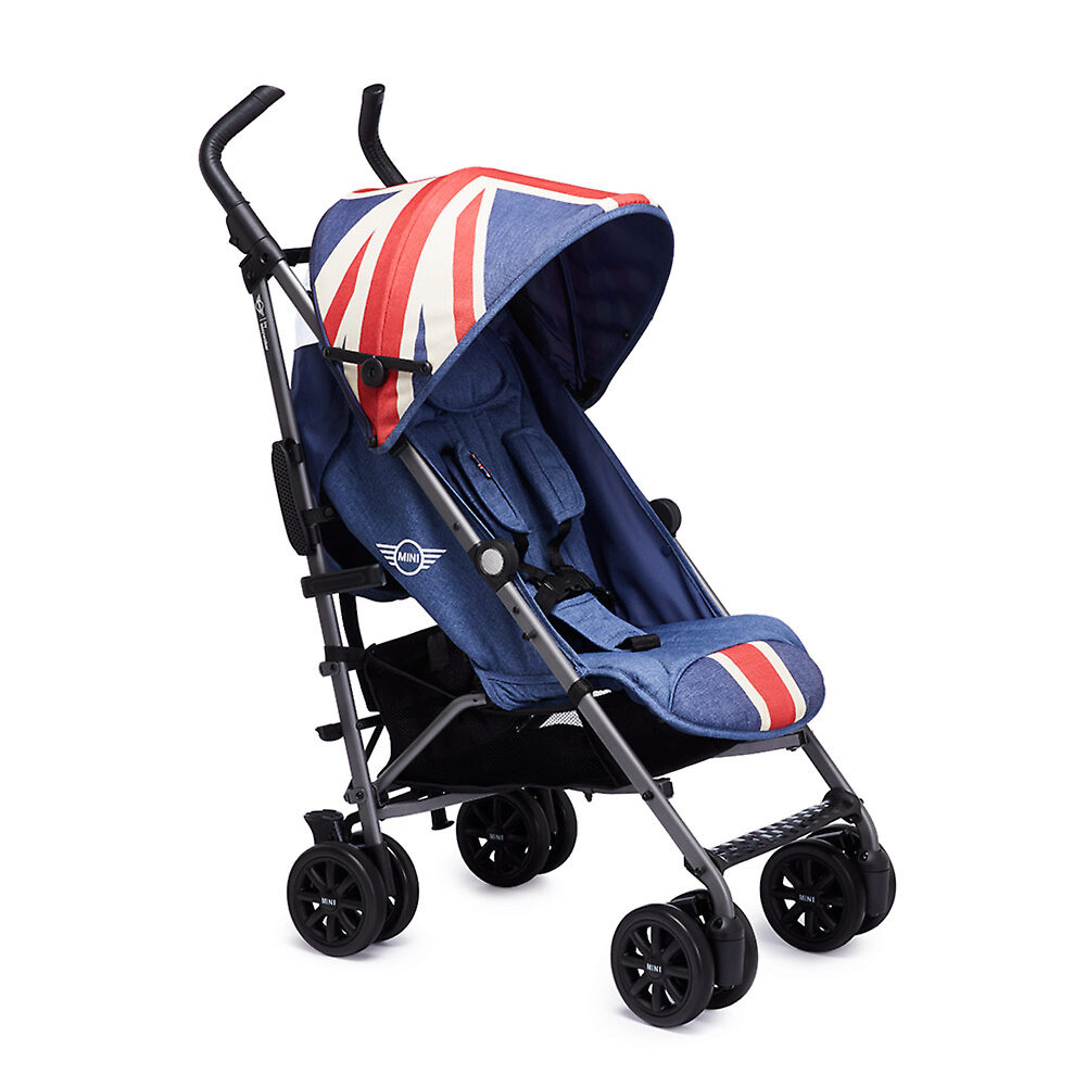 MINI by Easywalker buggy+ - Синяя джинса (Union Jack Vintage)