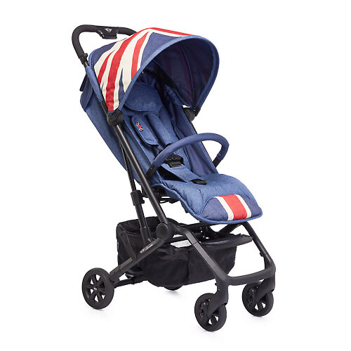 MINI by Easywalker buggy XS - Синяя джинса (Vintage Union Jack)