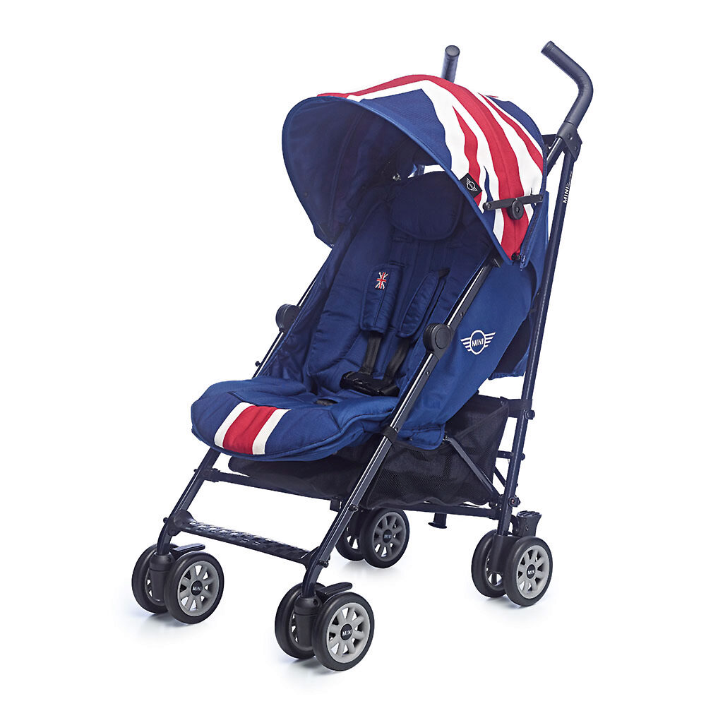 MINI by Easywalker buggy - Синий (Union Jack Classic)