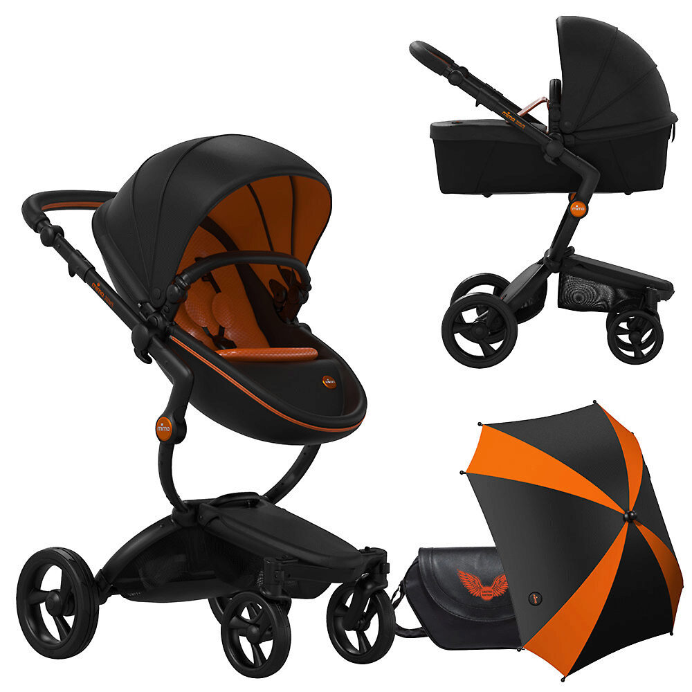 Mima Xari Rebel Limited Edition - Чёрный / Оранжевый (Black / Orange)