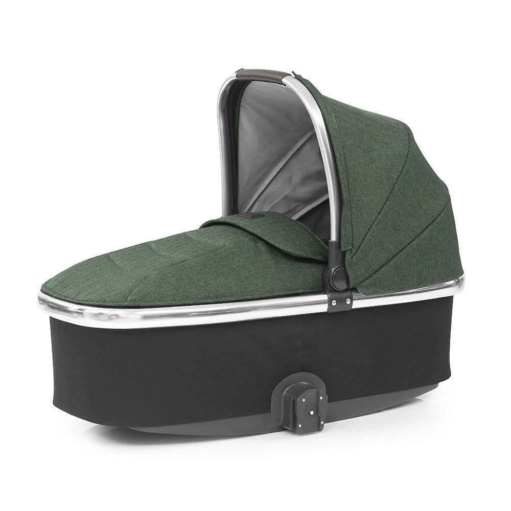Oyster Carrycot - Зеленый (Chrome / Alpine Green)