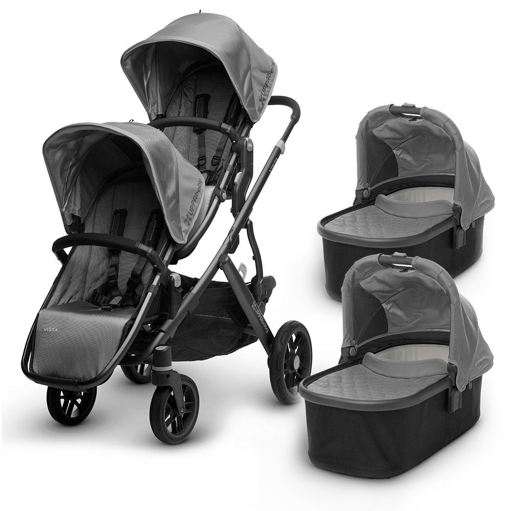 UPPAbaby Vista - коляска для двойняшек премиум-класса. Шоу ...