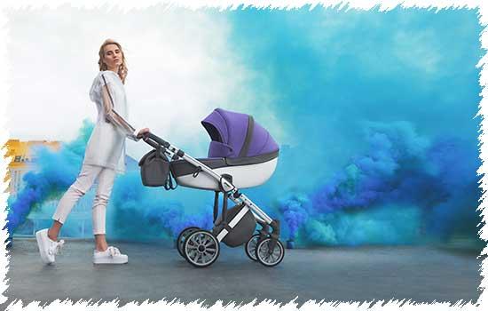 Коляска для новорожденных Anex Sport