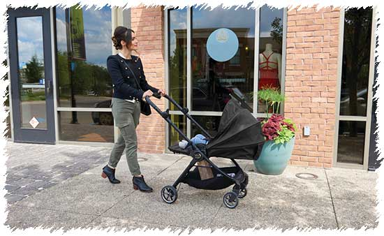 Компактная коляска для путешествий Baby Jogger City Tour Lux