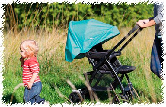 Joie Mirus - прогулочная коляска с перекидной ручкой
