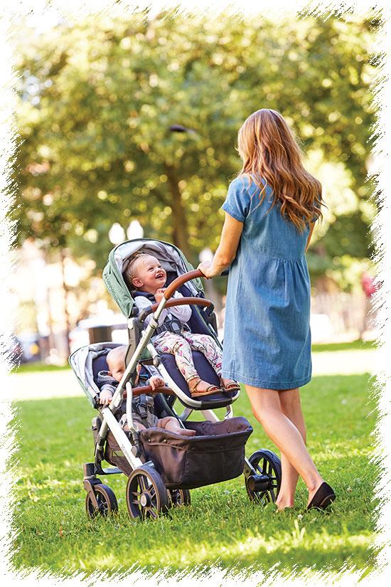 UPPAbaby Vista - детская коляска для двойни
