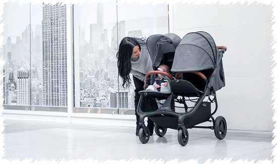 Коляска для двойни Valco Baby Snap Duo Trend